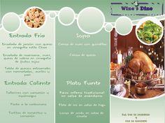 Cenas navideñas en el D.F. haga sus pedidos! Wine & Dine Banquetes
