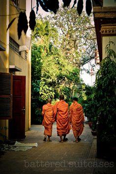 Buddhist Temple in Cambodia