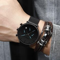 Black Military Analog Wrist Watch for Men, Mens Army Tactical Field Sport Watches Work Watch, Waterproof Outdoor Casual Quartz Wristwatch – Imported Japanese Movement, Waterproof – Fine Jewelry & Collectibles Mens Business Dress, Business Dresses, Business Casual, Mens Sport Watches, Watches For Men, Waterproof Sports Watch, Army Watches, Hand Watch, Elegant Watches
