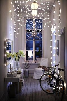 home inspiration: NEW YORK LOFT  #inspiration Style At Home, Ikea Hallway, Hallway Ideas, Entryway Ideas, Entryway Decor, Entrance Ideas, Entrance Design, White Hallway, Upstairs Hallway