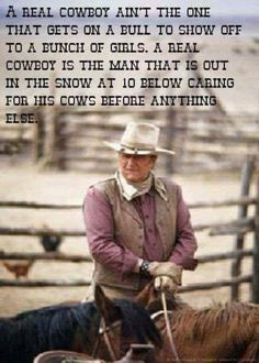 I enjoy the simple things in life Western Quotes, Rodeo Quotes, Cowboy Quotes, Horse Quotes, Country Quotes, Country Life, Cowgirl Quote, John Wayne Quotes, John Wayne Movies