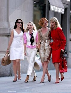 these 4 girls!!!!!! .... Sex and the City