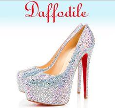 the perfect wedding shoe - louboutin