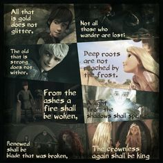 Lord of the Rings quote for Rise of the Brave Tangled Dragons