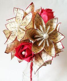 Flores & rosas amor Dozenpapel perfecto para por DanasPaperFlowers