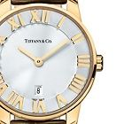 Tiffany & Co. | Item | Atlas® dome watch in 18k gold, quartz movement. | United States
