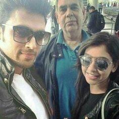 Mr.Taylor & Mr.Samthaan & Niti.... Perfect Family #oldpic @_sangita_191 @pani_musicalfc @rea_jaideep