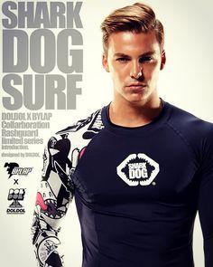 Shark dog surf. Version-01.extreme character rashguard.  designed by DOLDOL. [돌돌컴퍼니. http://www.doldoly.com. ] #skateboard #sk8 #surf #스노우보드 #레쉬가드 #sharkdog #longboard #shark #mtb #waterwear  #characterdesign #doldoldesign #doldol #dog #graphic #샤크독 #캐릭터디자인 #래쉬가드 #레시가드 #비키니 #수영복 #돌돌디자인 #레쉬가드추천 #graffiti  #tattoo #스케이트보드 #롱보드 #서핑 #sportswear #rashguard