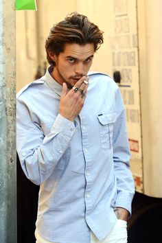 The very handsome Dylan Rieder is a professional skateboarder from Southern California. He has great style, and very photogenic, no wonder DKNY tapped him as a campaign model last season. Getty Images  - HarpersBAZAAR.com    duh