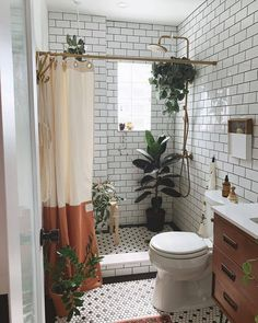 Boho Bathroom, Bathroom Interior, Bathroom Goals, Budget Bathroom, Small Bathroom, Bathroom Ideas, Bathroom Organization, Organization Ideas, Home Catalogue