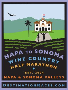 Napa to Sonoma Wine Country Half Marathon - July