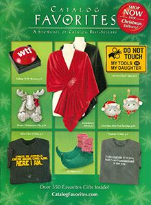 Find fun gift ideas or a holiday gift online from Catalog Favorites catalog