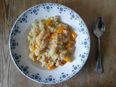 Couscous mit angedünstetem Gemüse #Rezept #omnomnom #nomnom