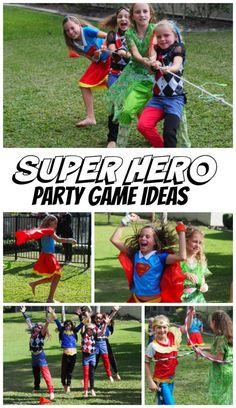 Super Hero Party Games!