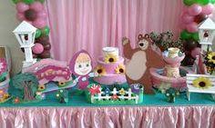 Resultado de imagem para masha e o urso decoração