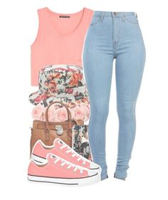 Flower child by twerkinwitray on Polyvore featuring polyvore, fashion, style, MANGO, Converse, Michael Kors, Original Chuck and clothing