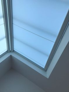 If you need a blind for your Roof Lantern or Skylight make sure you call Radiant Blinds Ltd take a look at how tight we measure them to give you total protection from glare and UV as well as helping to insulate the glass in the colder months. These blinds can be fitted on a sloping roof like this or horizontally with no guide wires