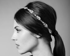 Diamond Leaves Headwrap