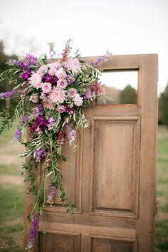 Organic, Elegant Cedarwood Wedding styled in Wine & Lavender | Cedarwood Weddings