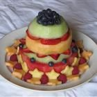 """100% Fruit """"Cake."""" // Contains strawberries and pineapple (but I'm sure you could use different fruits to suit your taste) #vegan #glutenfree"""