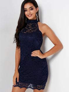 An attractive lace halter neck dress on sale. Buy the Fashion - pajama women's palace nightgown ladies lace halter skirt net dress sexy home wear from BerryLook Sexy Dresses, Dresses For Sale, Dresses Online, Cute Dresses, Formal Dresses, Dress P, Lace Dress, Dress Shoes, Beautiful Outfits