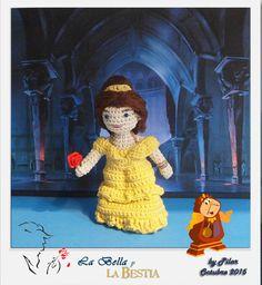 #amigurumi #bella Disney