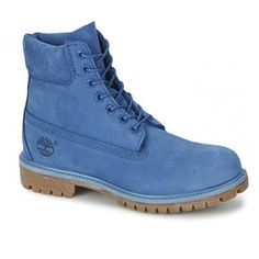 e5cd7bcdc47e Timberland - Boots Monochrome Icon 6-inch Premium Homme - Bleu Shoes Boots  Timberland,