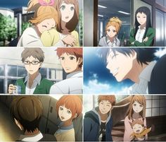 Image de anime, gif, and orange