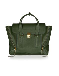 Pashli texured-leather tote by 3.1 Phillip Lim