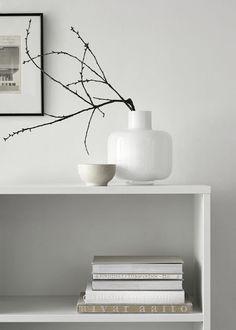 Ming glass vase