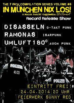 2014-04-24 - In München Nix Los! Vol. 6 Record Release