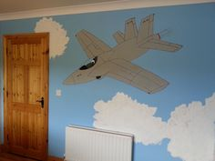 F18 Fighter Jet Feature Wall Fighter Jets, Aircraft, Spaces, Creative, Wall, Inspiration, Design, Biblical Inspiration, Aviation