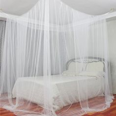 Crib Netting Kids Room Bedding Mosquito Net Romantic Round Bed Mosquito Net Bed Cover Hung Dome Bed Canopy Prevent Mosquitoes Insects Dust Exquisite Craftsmanship; Mother & Kids