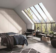 That classic Scandinavian style #featurewindow #allthelight #scandi #interiors #interiordesign #bedroom #bedroomdesign #storage