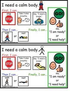 Autism Calm Body Cards