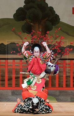 Kabuki featuring Ebizo Ichikawa XI at Sadler's Wells, London, Great Britain