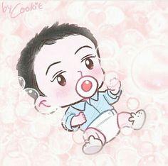 Sehun ❤ Exo Kokobop, Kpop Exo, Exo Cartoon, Exo Stickers, 5 Years With Exo, Exo Fan Art, Kpop Fanart, Kyungsoo, All Art
