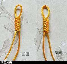 Chinese Knotting of Basic Level-Jingang Knot | chineseknotting