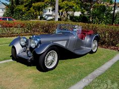 Jaguar 100 Roadster by Finch & Hocking 1936.