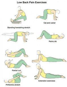 Back exercises for seniors