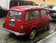 1961 Fiat 500 D Giardiniera