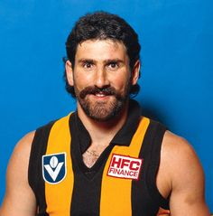 The Big Dipper may have the most famous footy facial hair of all Australian Football League, Big Dipper, Crows, Winter Sports, Hawks, Facial Hair, Football Team, Soccer, Club