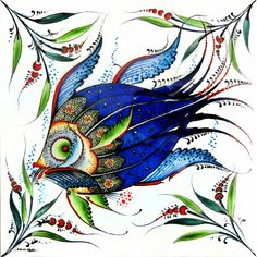 About Cinili Collaboration - faqen time Turkish Pattern, Turkish Art, Animal Projects, China Painting, Ceramic Design, Painting Lessons, Fish Art, Art Sketches, Glass Art