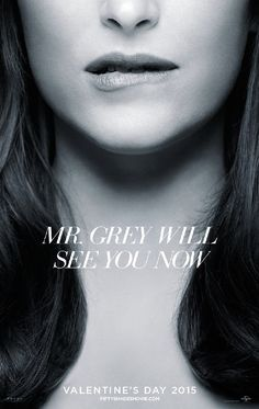 Cinquanta sfumature di grigio (Fifty Shades of Grey, USA 2015) - poster USA  design by Iconisus L&Y - Visual Communication Systems Photography by Autumn de Wilde