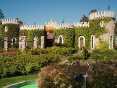 Channel your inner Tiger Woods with a round of mini golf at Castle Park, a Sherman Oaks landmark