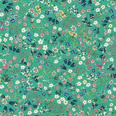 Liberty Fabric Tana Lawn Donna Leigh D CC