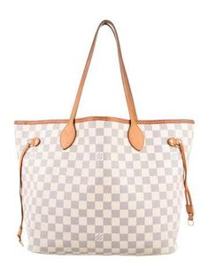 #The RealReal - #Louis Vuitton Louis Vuitton Damier Azur Neverfull MM - AdoreWe.com