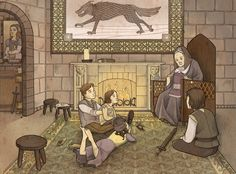 Old Nan's Stories by mustamirri