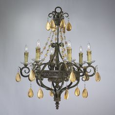 """View the Cyan Design 01023 25"""" Dorato Six Light Chandelier from the Decorative Vases Collection at LightingDirect.com."""