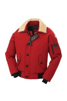 Canada Goose-Foxe-Bomber-Red For Men